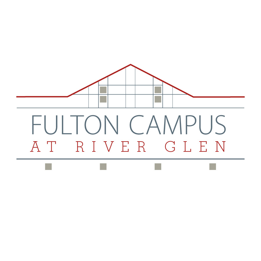 Cayuga Community College Fulton Campus at River Glenn Logo